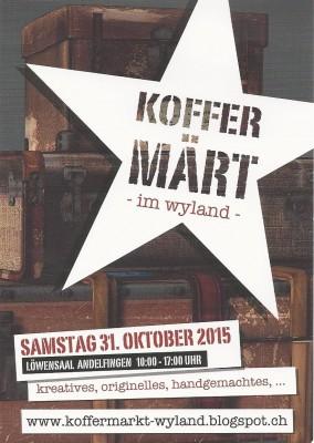 2015 wyland Koffermärt