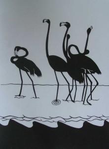 2002-007 Flamingos