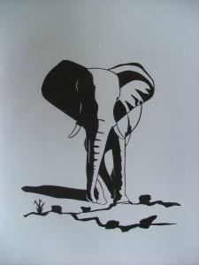 2002-009 Elefant